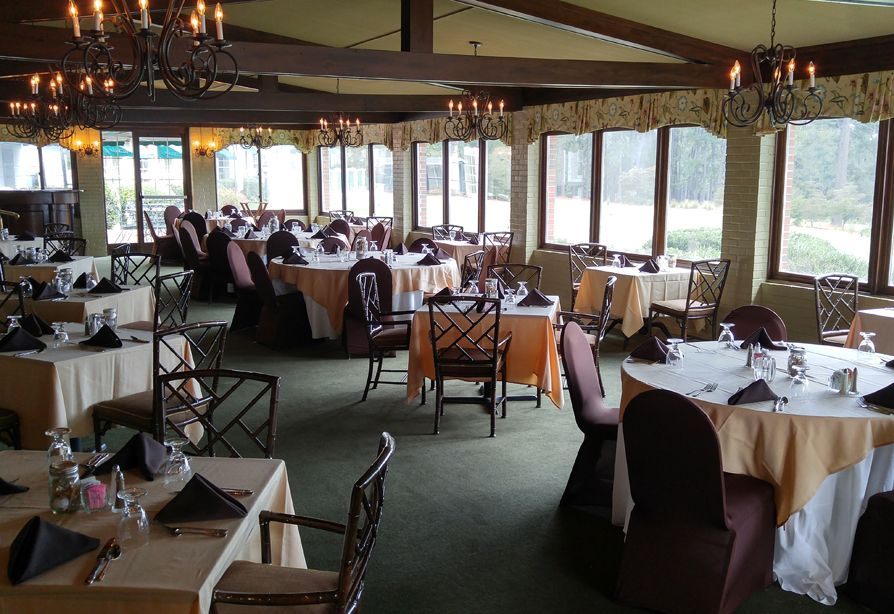 THE TERRACE AND DINING ROOM